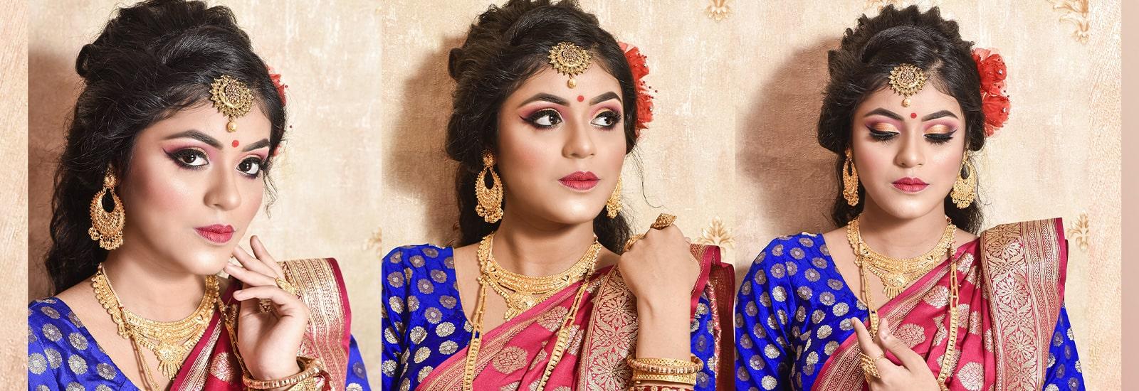 best-bridal-makeup-artist-in-kolkata-glisten-makeover-by-nikita