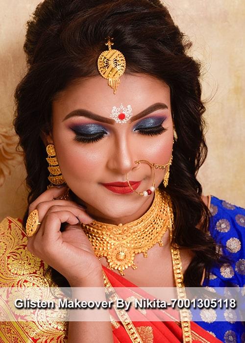 famous-makeup-artist-in-kolkata-glisten-makeover-by-nikita-bhardwaj