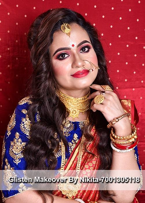 top10-wedding-makeup-artist-in-kolkata-glisten-makeover-by-nikita